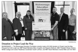 Donation to Project Lead the Way